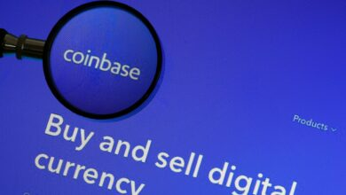 Photo of Coinbase opens at $381 per share, valuing the crypto exchange at nearly $100B